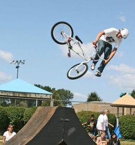 BMX Stunt Show by King Productions @ Rock Hill | South Carolina | United States